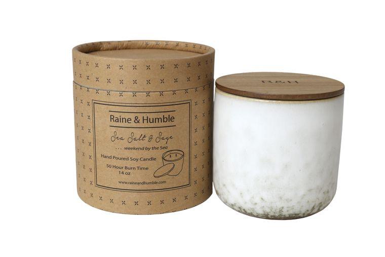 Candle Sea Salt and Sage 14oz