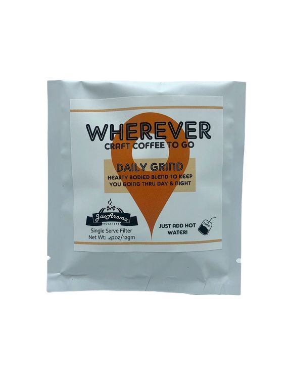 WHEREVER Single Serve Coffee (Daily Grind)