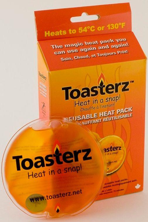 TOASTERZ-self heating reusable heatpacks