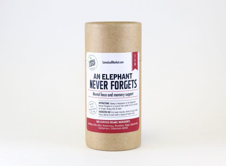 An Elephant Never Forgets Tea