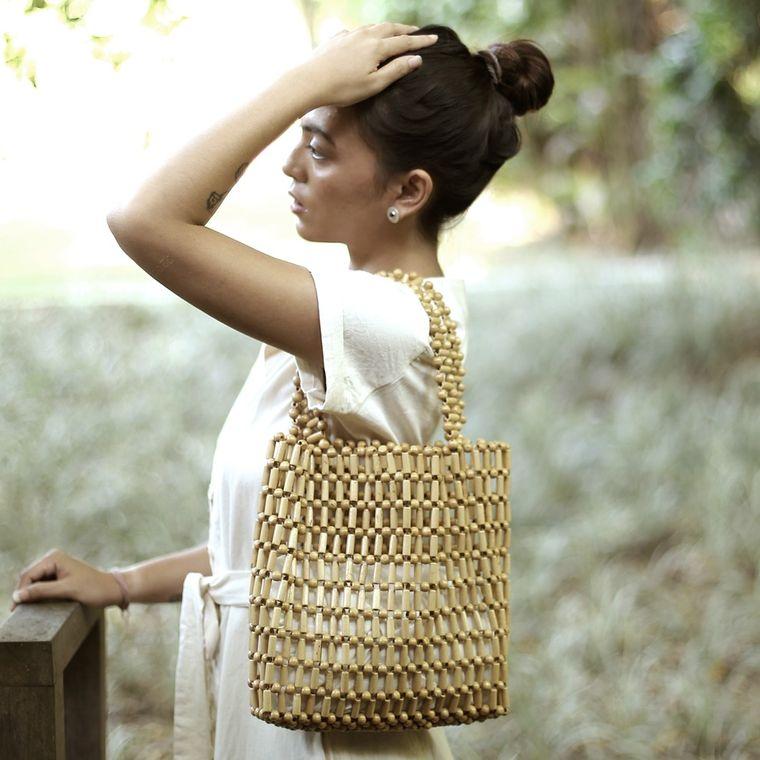 Putu Bamboo Beads Bag (1-3 days)