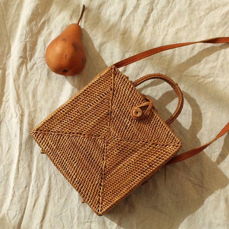 Atta Maliya Rattan Bag (1-3 days)