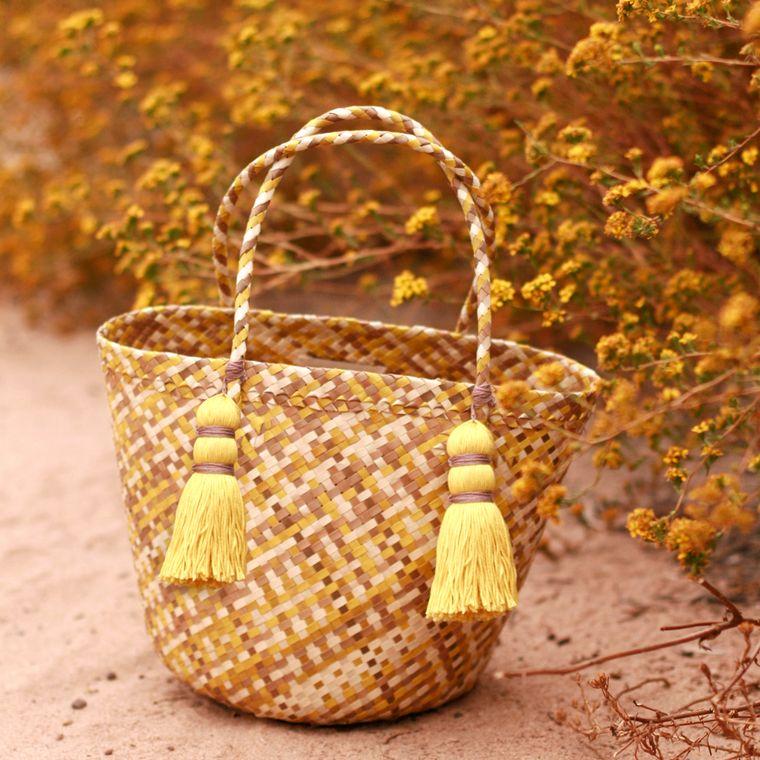 Lemonade Coco Palm Tote Bag