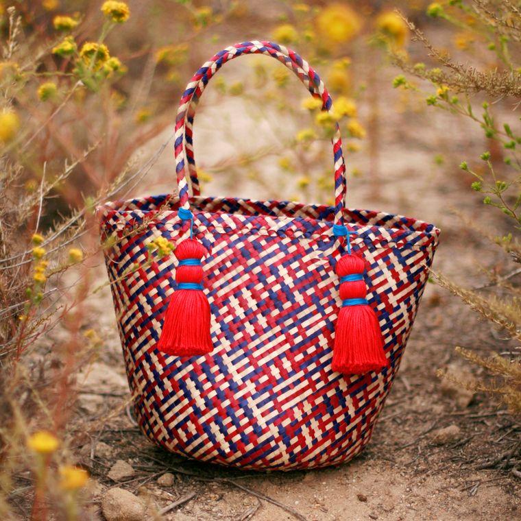 Del Mar Coco Palm Tote Bag