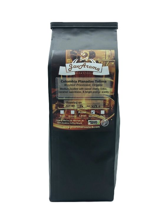 Colombia (16oz)  Wholebean