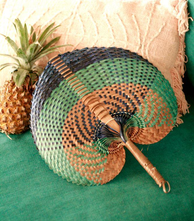 Balinese Tropica Woven Fan (1-3 days)