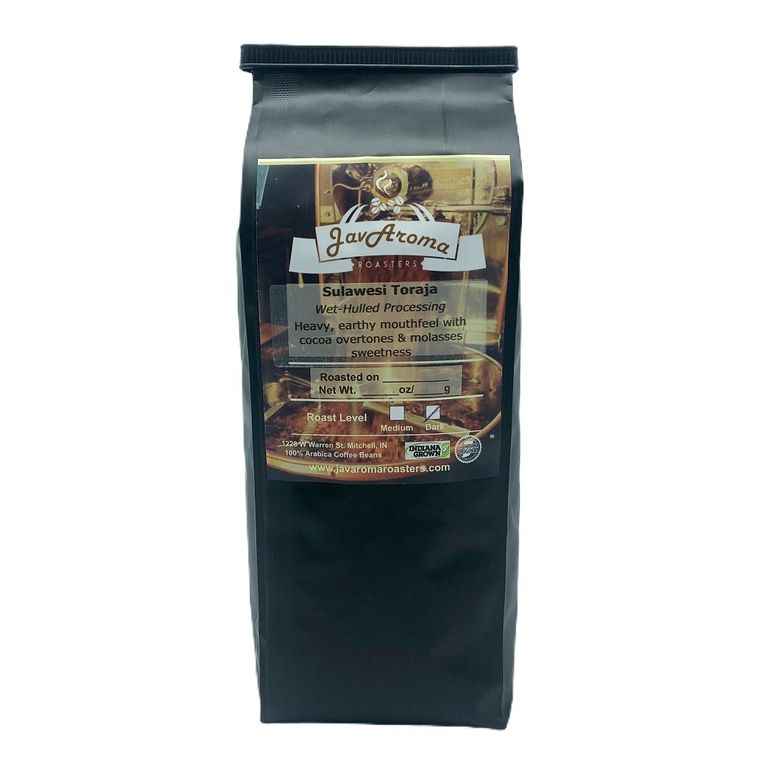 Sulawesi Toraja (16oz)  Ground