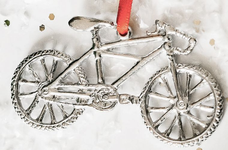 Bike Bicycle Biking Triathlon Cycling Keepsake Christmas Ornament
