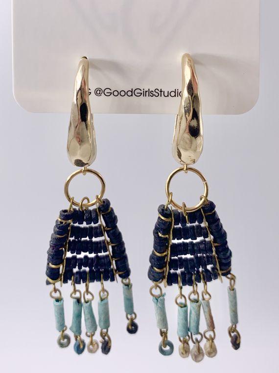 Boho Dangle  Earrings no2