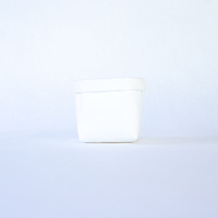 Mini Tiered Tray Paper Leather Pot
