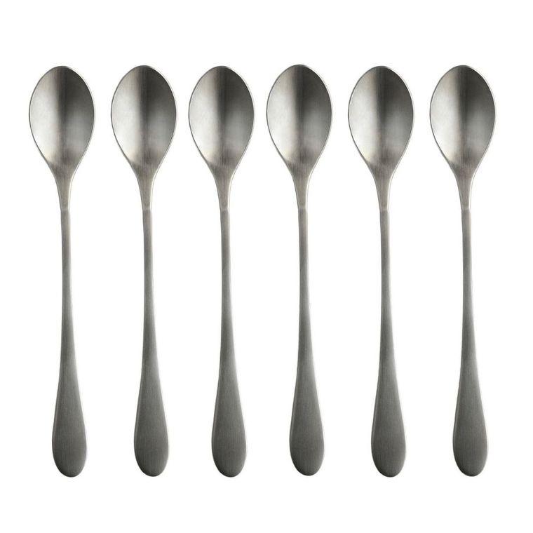 Matte Original Iced Teaspoon Set of 6