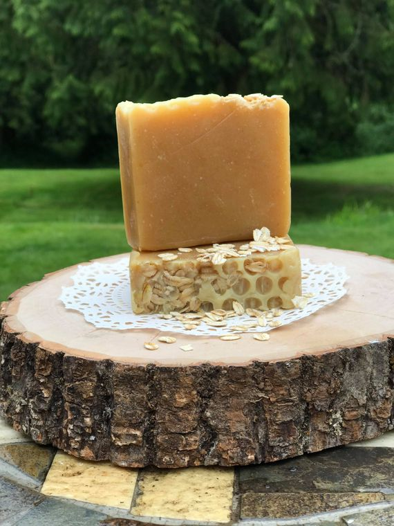 SOAP - (Fragrance Free) Oatmeal Honey 4.5 OZ