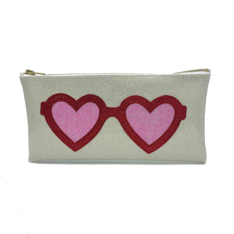 Heart Glasses Clutch!