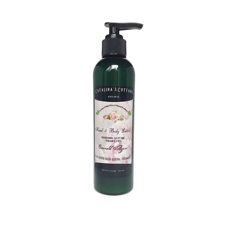 Lotion - (Paraben & Sulfate Free) Emerald Agave NET WT 8 oz