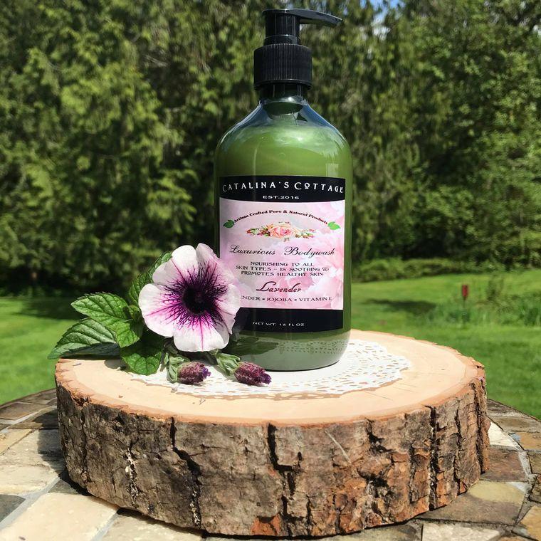 Body Wash - (Paraben Free) Lavender - (NET WT 16 oz)