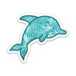 Dolphin Charity Vinyl Sticker