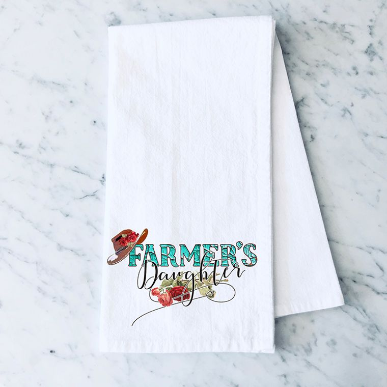 Farmer's Daughter Cotton Flour Sack Towel
