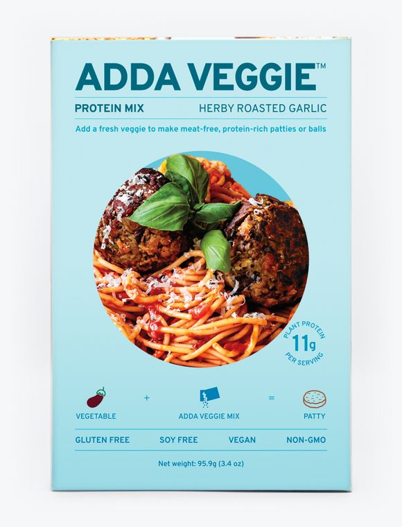 Adda Veggie Protein Mix – Herby Roasted Garlic