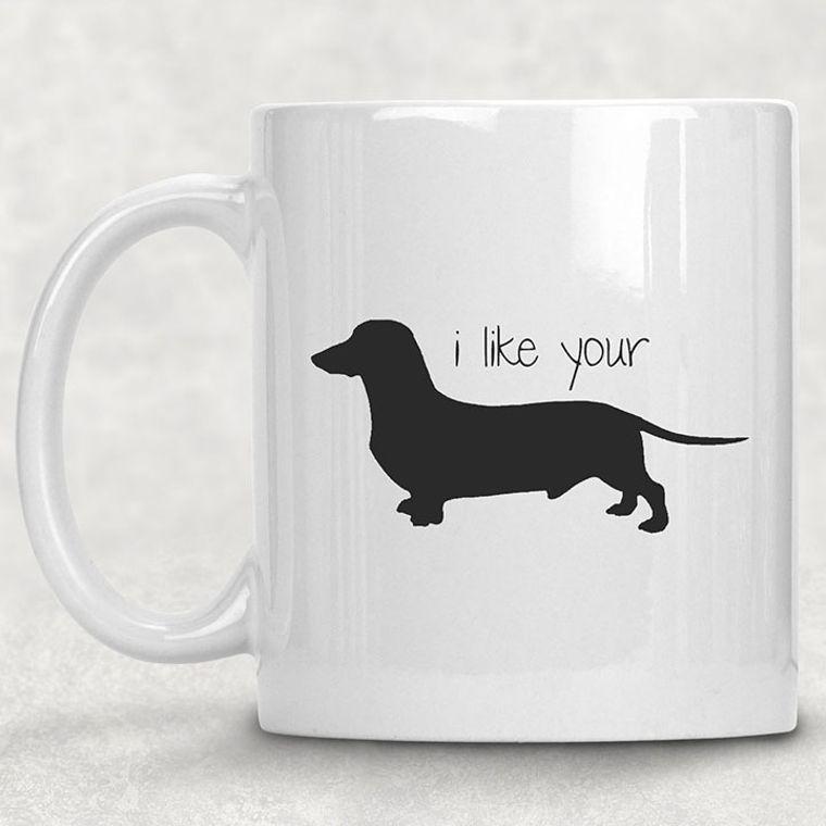 I Like Your Weiner Funny Adult Themed 11 oz. Mug