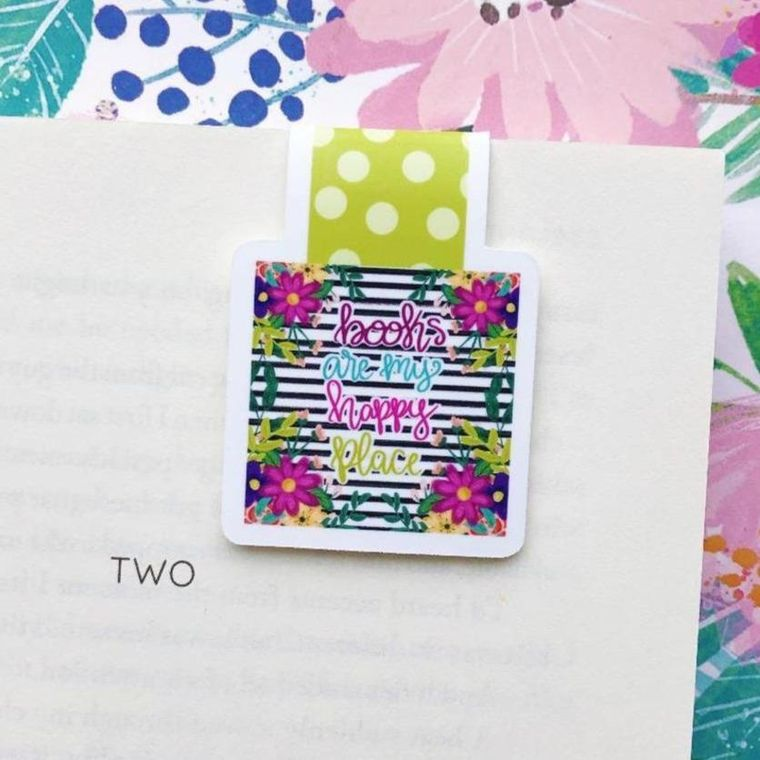 Books are my Happy Place Magnetic Bookmark