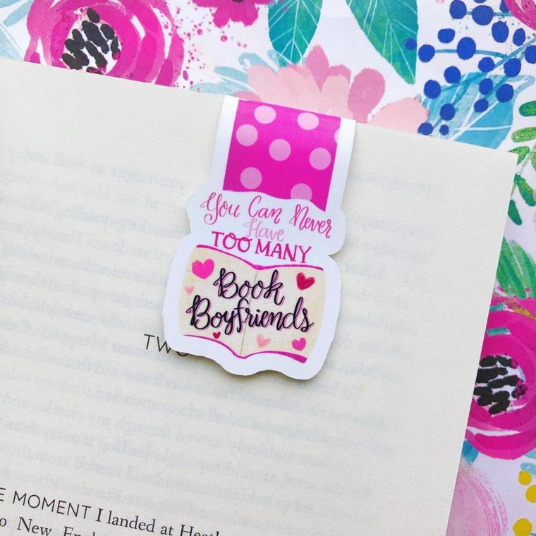 You Can Never Have Too Many Book Boyfriends Magnetic Bookmark