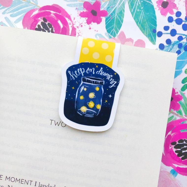 Keep on Dreaming Magnetic Bookmark