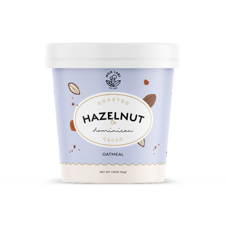 Roasted Hazelnut & Dominican Cacao Oatmeal Cup