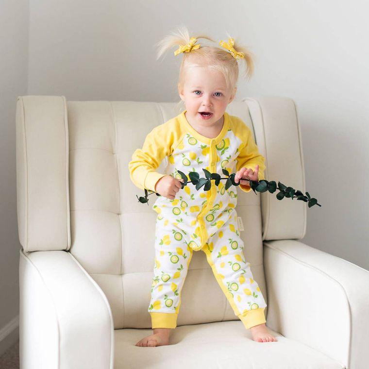Organic Baby Romper Jumpsuit - Unisex (GOTS Certified)