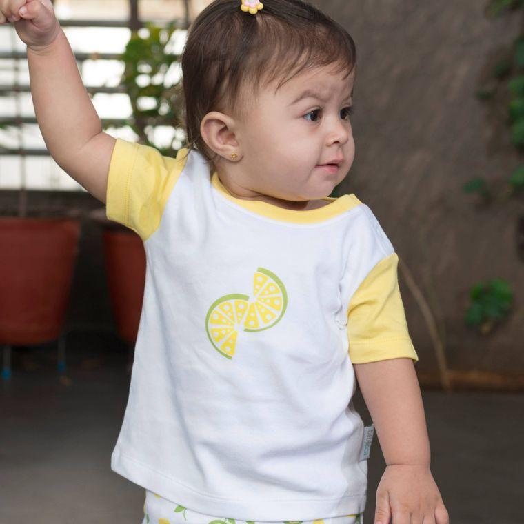 Citrus Garden: Unisex Organic Baby T-shirt