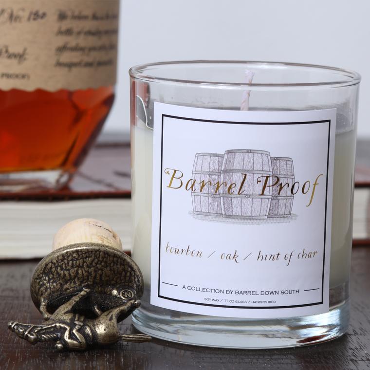 Bourbon Barrel Proof Candle