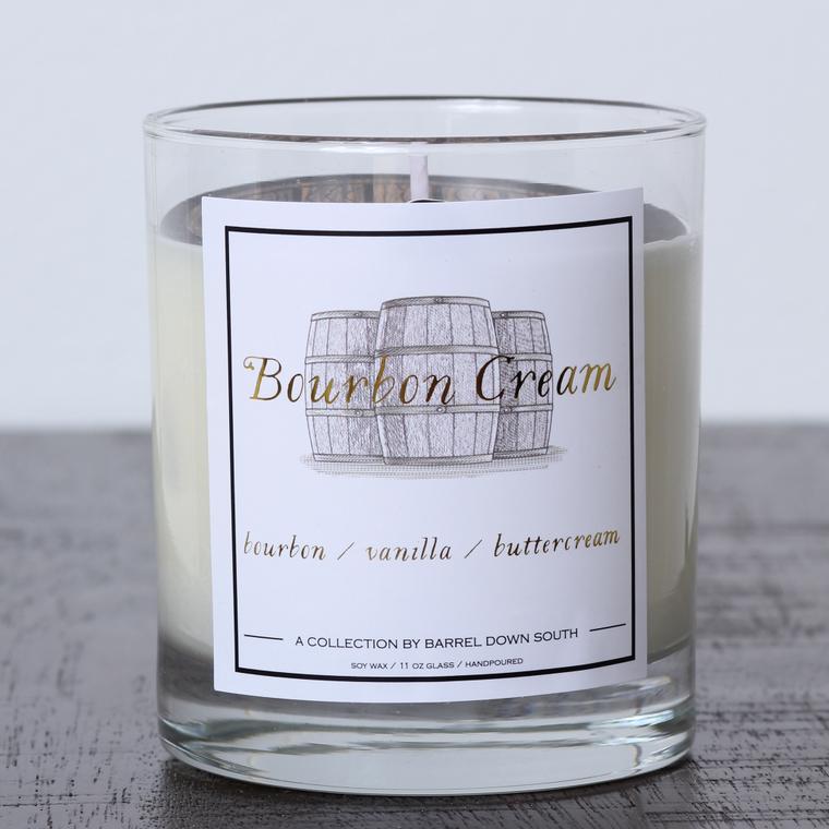 Bourbon Cream Candle