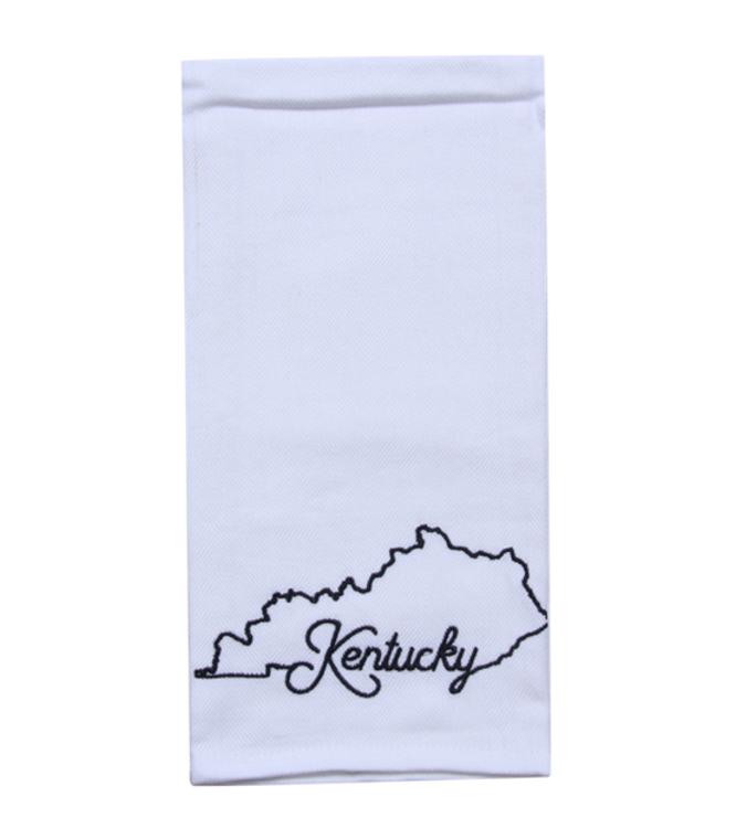 State of Kentucky Tea Towel - Kentucky - Shape of Kentucky