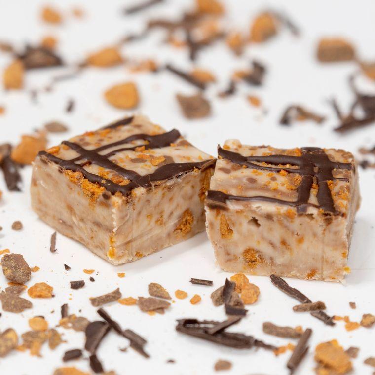 Vanilla Fudge with Butterfinger® Pieces