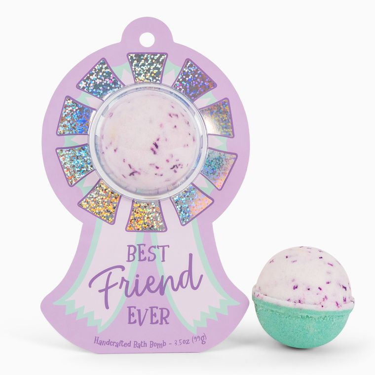Best Friend Ever Award Ribbon Clamshell Bath Bomb