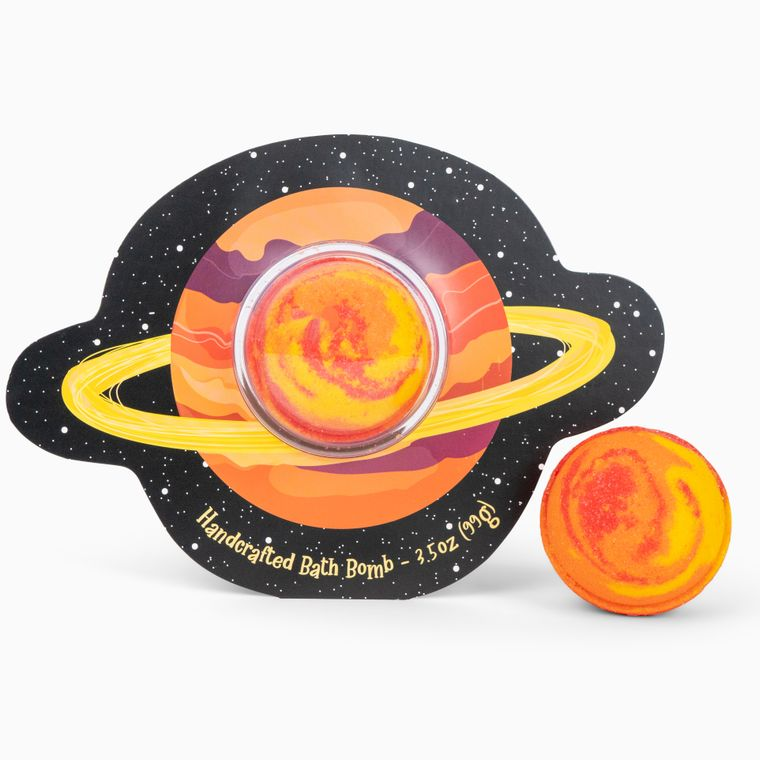 Never Stop Dreaming Planet Clamshell Bath Bomb