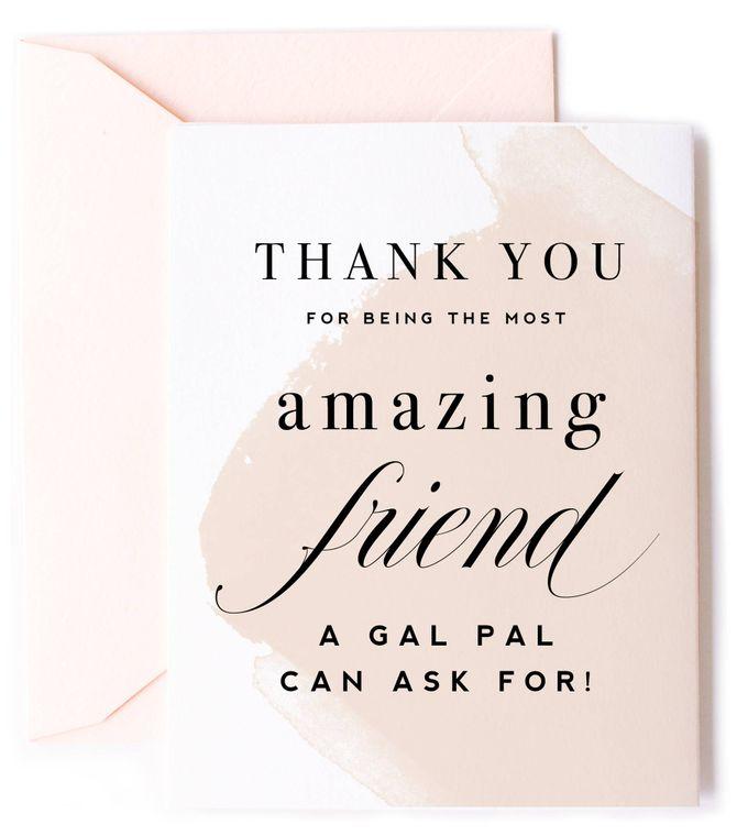 Thank You Amazing Friend, Friendship Card