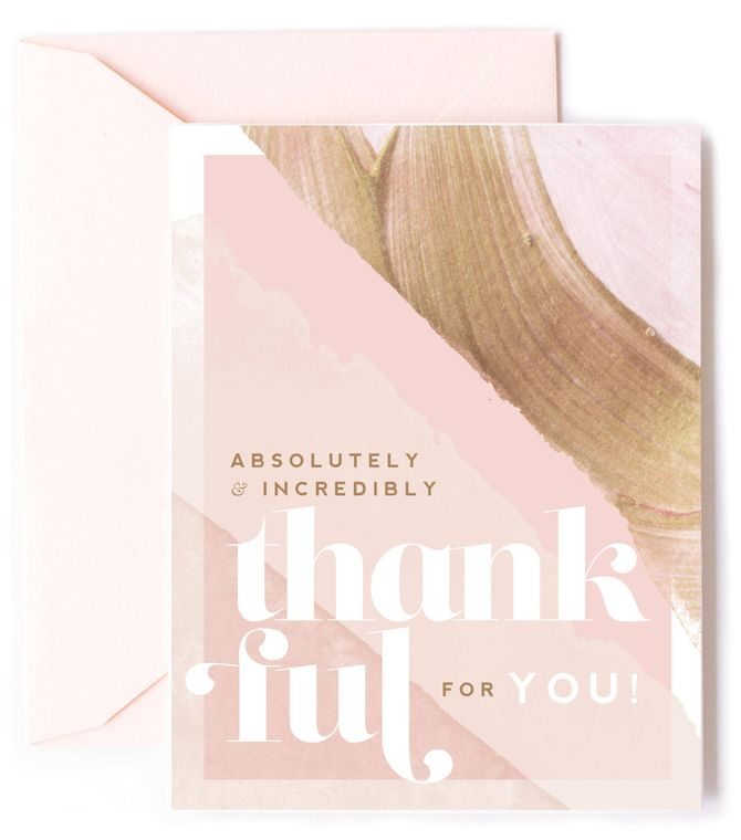 Thankful for YOU - Friendship & Thank You Card