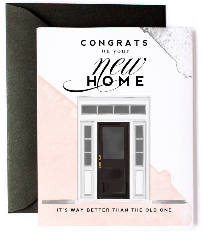 Funny, Congrats on Your New Home Card