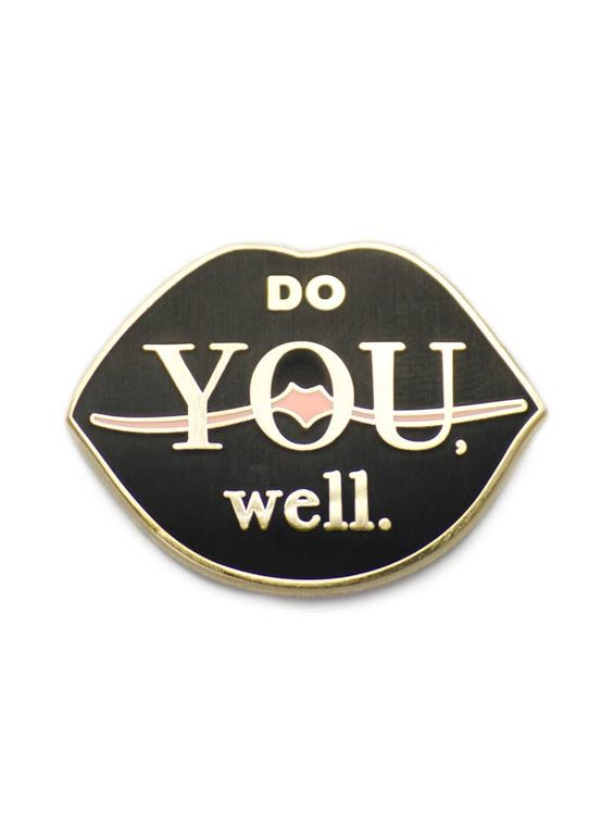 Do You Well - Lips Enamel Pin