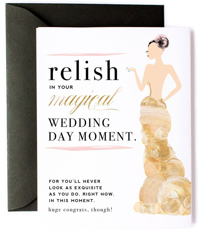 Funny, Magical Wedding Day Congratulations Card
