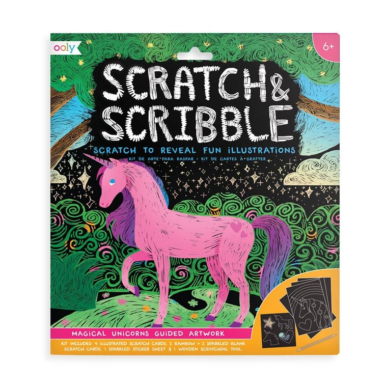 Scratch & Scribble - Magical Unicorns