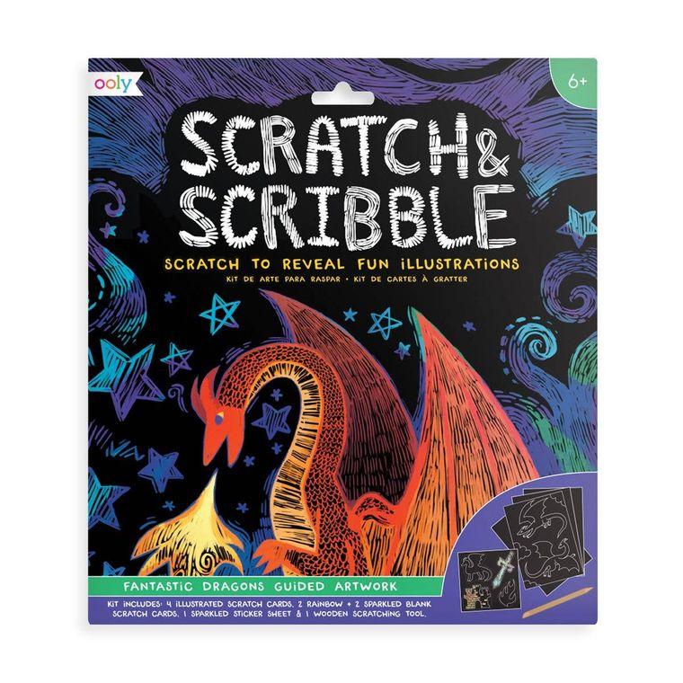 Scratch & Scribble - Fantastic Dragons