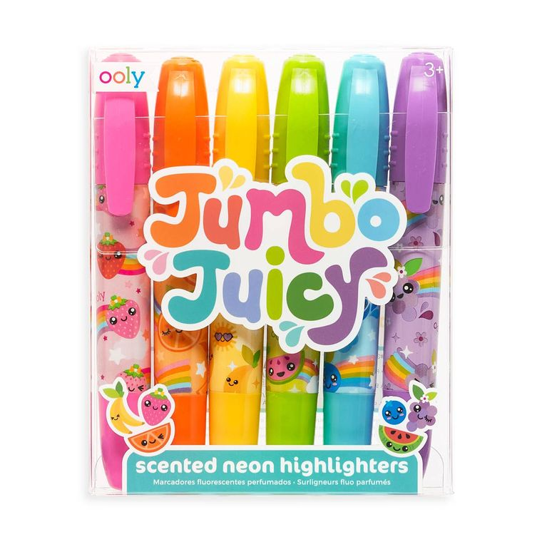 Jumbo Juicy Scented Highlighters