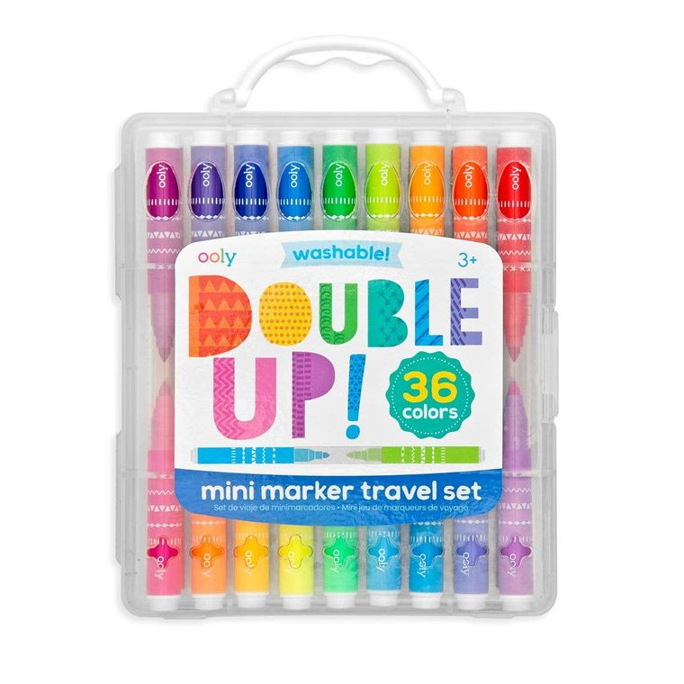 Double Up 2-In-1 Mini Markers