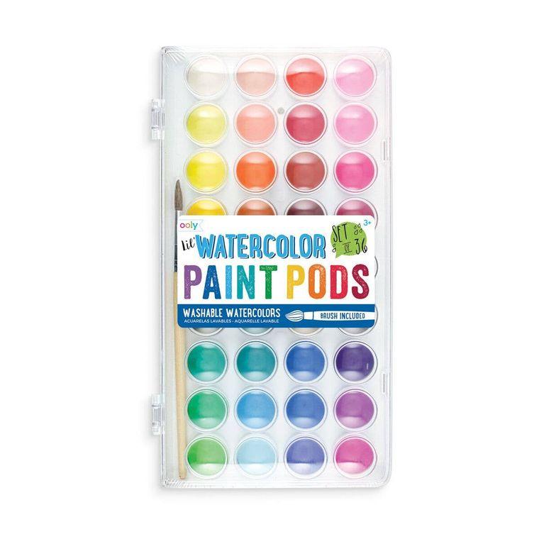 Lil' Paint Pods Watercolor Paint - Set of 36