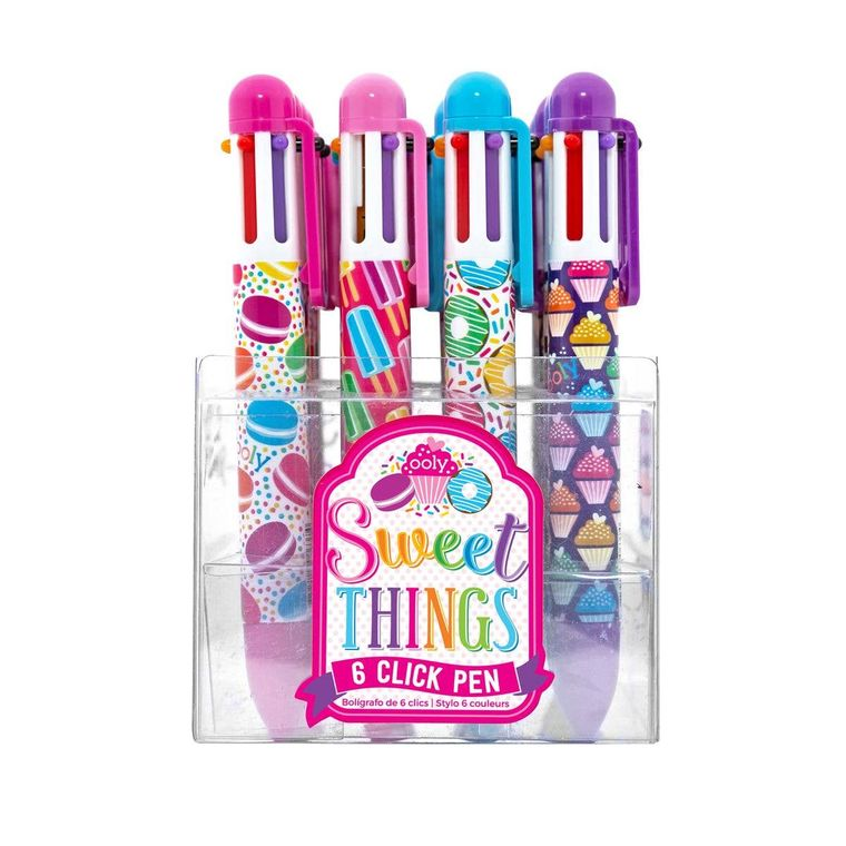 6 Click Pens - Sweet Things