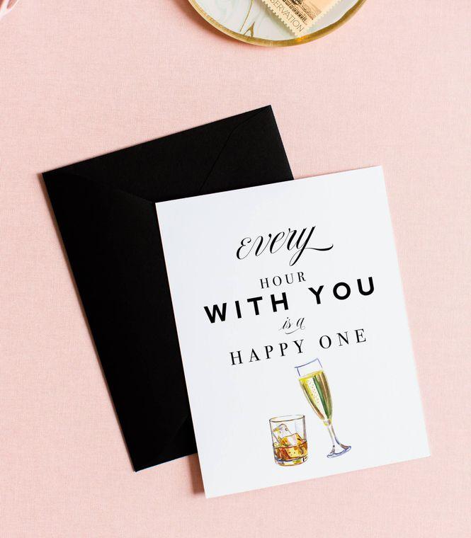 Happy Hour, Love Card & Anniversary Card