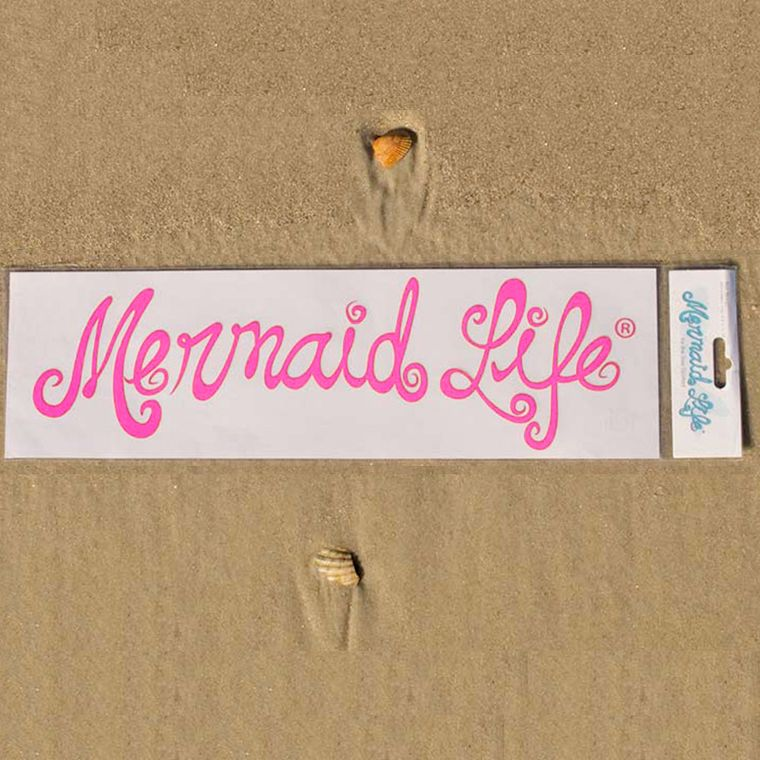 Official Mermaid Life® Decal