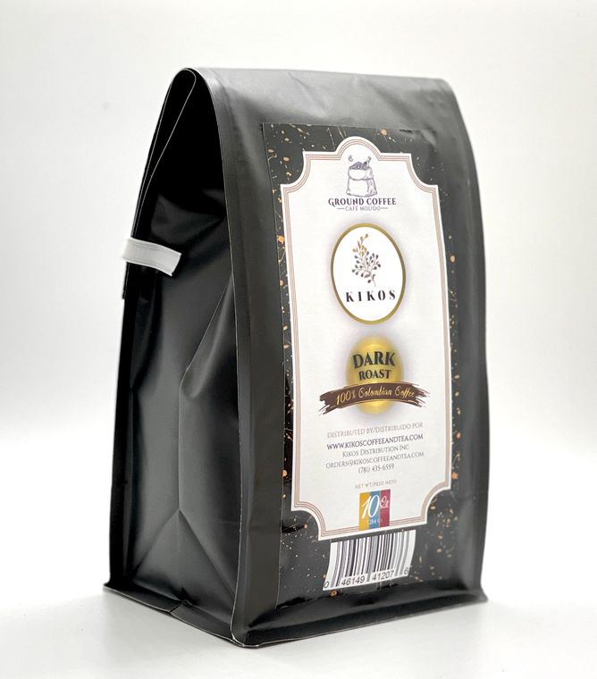 10 oz Kikos Colombian Coffee - Dark Roast - Ground