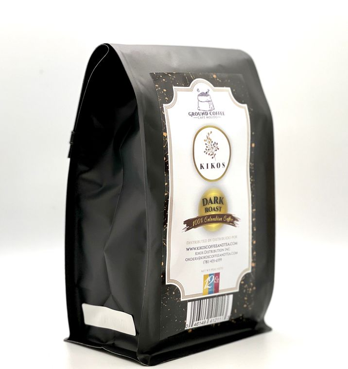 12 oz Kikos Colombian Coffee - Dark Roast - Ground